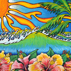 Adam Johnson - Summer Blooms