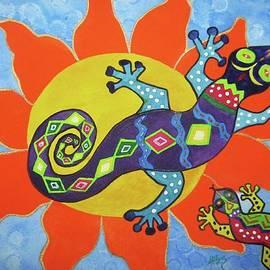 Ellen Levinson - Sunbathing Lizards