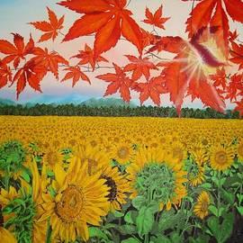 Nathalie Ando - Sunflower Field