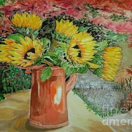 Yvonne Johnstone - Sunflowers In Copper