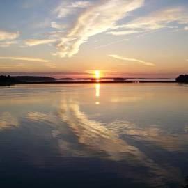 Daralyn Maxwell - Sunrise-Casco Bay 2