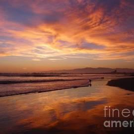 Henry Murray - Sunset at Venice Beach