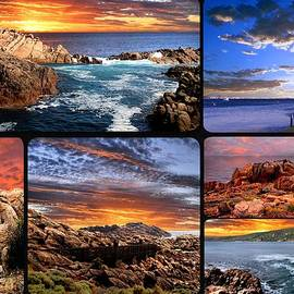 Imagevixen Photography - Sunset Coast Collage