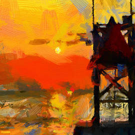 Vincent DiNovici - Sunset on Atlantic Ocean - Virginia Beach TNM