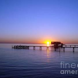 Joan Meyland - Sunset on the River