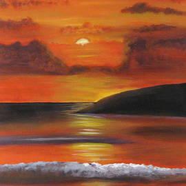 Susan McLean Gray - Sunset Orange