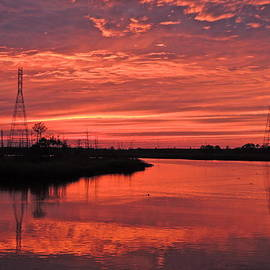 Eve Spring - Sunset Over Cape Fear River