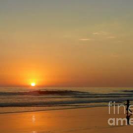 Christine Till - Sunset over La Jolla Shores