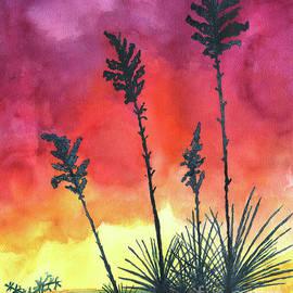 Eric Samuelson - Sunset Silhouette