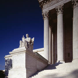 Carol M Highsmith - Supreme Court Statue