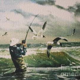 Bill Hubbard - Surf Casting for Striped Bass at Gull Rock