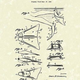 Prior Art Design - Swim Fin 1948 Patent Art