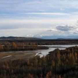 Sharon Mau - Tanana River Denali Wrangell Saint Elias Wilderness Alaska