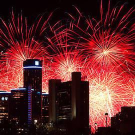 Gordon Dean II - The 54th Annual Target Fireworks in Detroit Michigan - Version 2