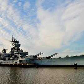 Bill Cannon - The Battleship New Jersey at the Port of Camden
