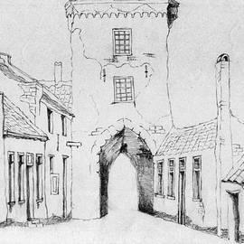 Annemeet Van der Leij - The city gate