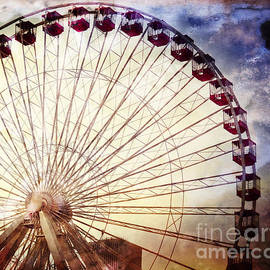 Mary Machare - The Ferris Wheel at Navy Pier