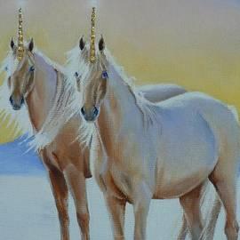 Louise Green - The Golden Unicorns