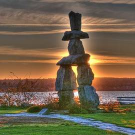 Lawrence Christopher - The Inukshuk At English Bay