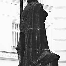 Christine Till - The Iron Knight - Darth Vader watches over Prague CZ
