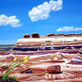 Phyllis Kaltenbach - The painted Desert and Petrified Forrest