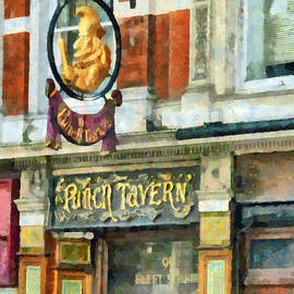 Steve Taylor - The Punch Tavern at 99 Fleet Street in London