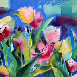 Kathy Braud - The Tulips Bed Rock