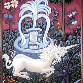 Genevieve Esson - The Unicorn and Garden