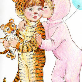 Dee Davis - Tiger and Bunny in the Children