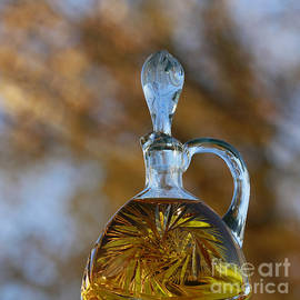 Inspired Nature Photography By Shelley Myke - Touch of Class - Crystal Decanter