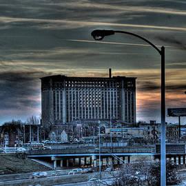 Nicholas  Grunas - Train Station Detroit MI