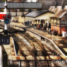 Ian Mitchell - Train Station