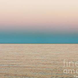 Carol F Austin - Tranquility On the Ocean Horizon