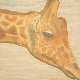 Isabelle Ehly - Triptych giraffes 3