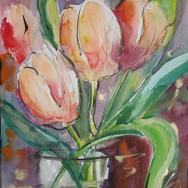 Mohamed Hirji - Tulips In A Vase