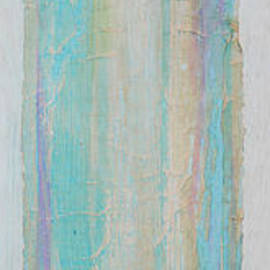 Asha Carolyn Young - Turquoise Remembrance Door   Tribute to Hari E. Thomas