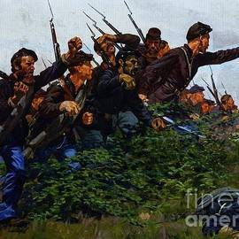 PG REPRODUCTIONS - Union Soldiers Battle of Fair Oaks