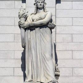 Carol M Highsmith - Union Station Statue