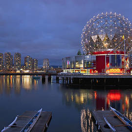 Marlene Ford - Vancouver Science World at night