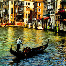Sabine Jacobs - Venice Gondolas