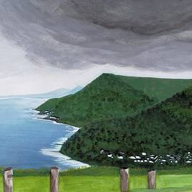 David Bartsch - View from Road to Wollongong