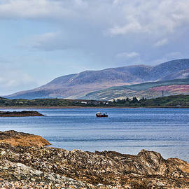 Chris Thaxter - View of the Isle of Arran
