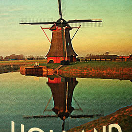 Flo Karp - Vintage Holland Windmill