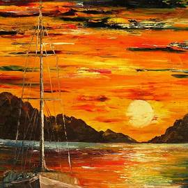AmaS Art - Waiting for the sunrise