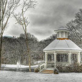 Brett Engle - Warm Gazebo on a cold day