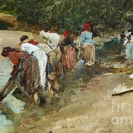 PG REPRODUCTIONS - Washerwomen