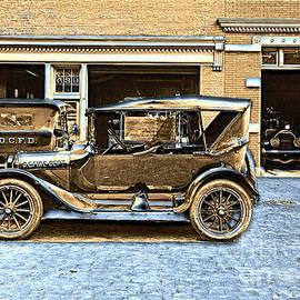 Padre Art - Washington D.C. Fire Department 1916 color