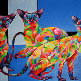 Sherry Shipley - We ARE Siamese if you Please