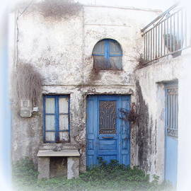 Carla Parris - Weathered Greek Building