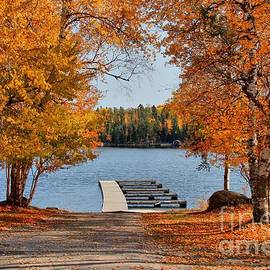 Vickie Emms - West Hawk Lake Boat Dock